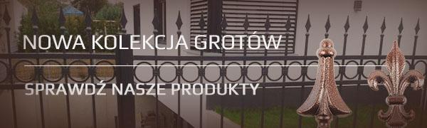 Nowa kolekcja grotów ogrodzeniowych